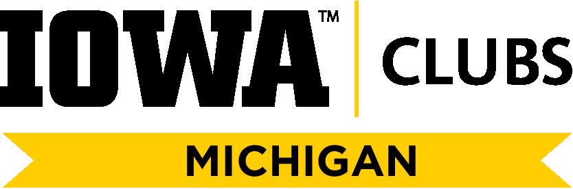 University of Iowa Clubs Michigan logo